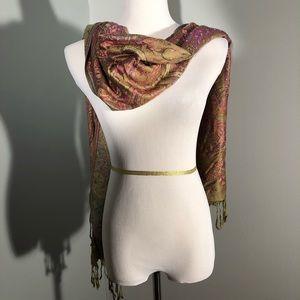 100% cashmere scarf/shawl